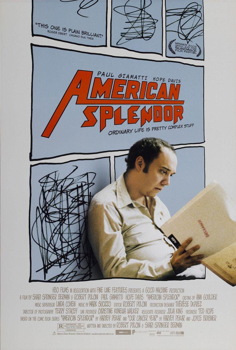 American Splendor (film) movie poster