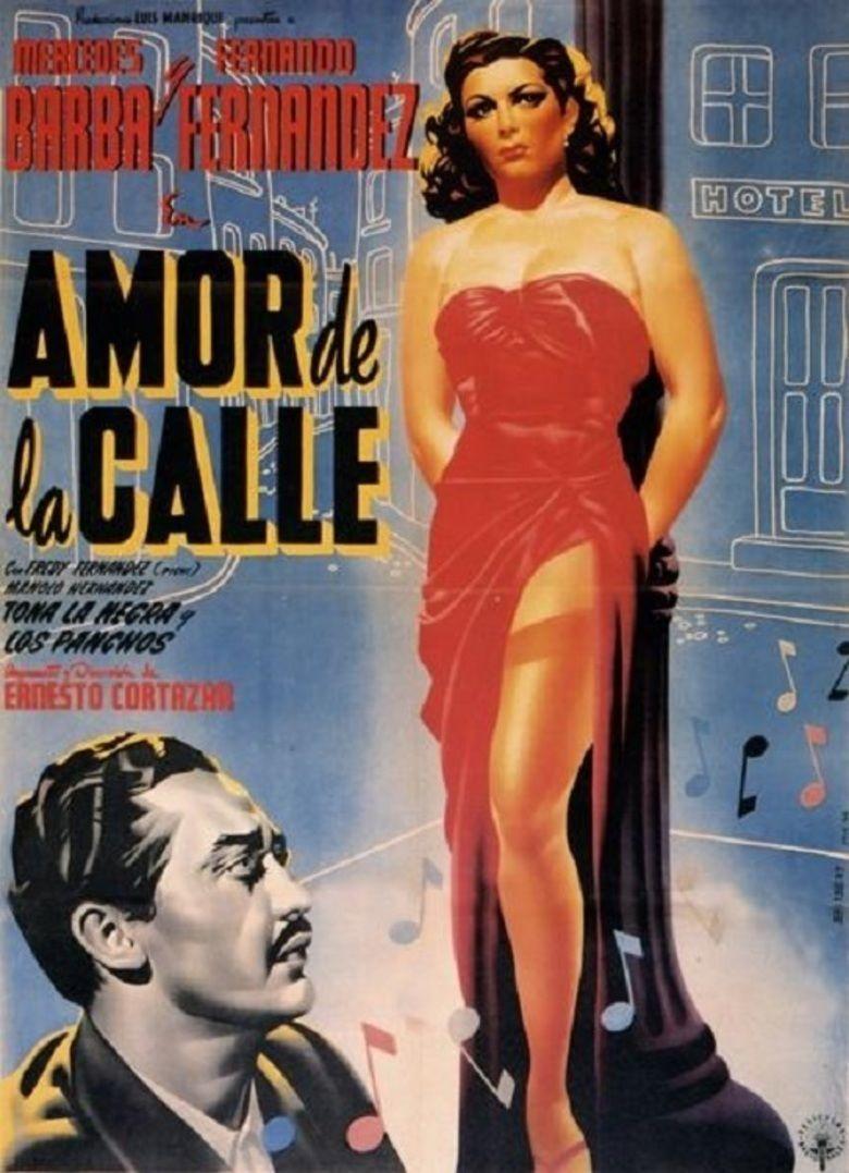 Amor de la calle movie poster