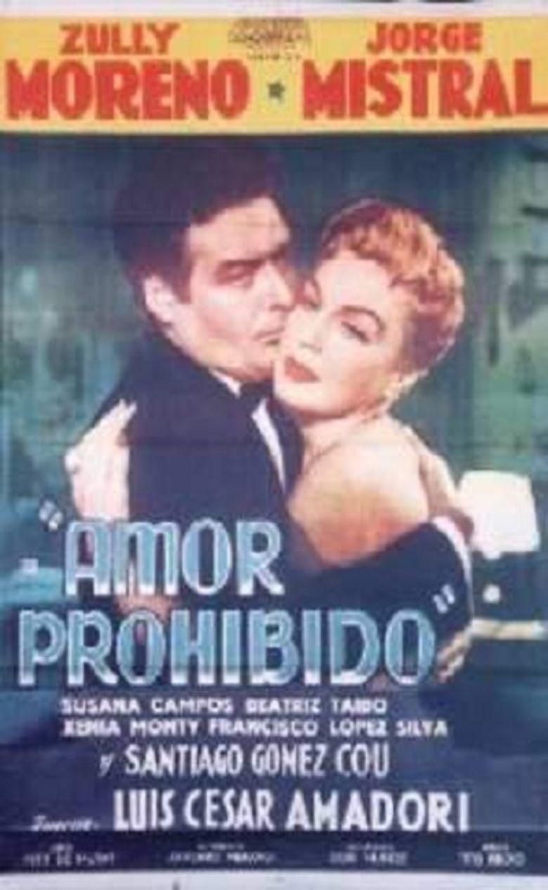 Amor prohibido (film) movie poster
