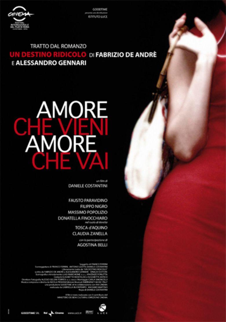 Amore che vieni, amore che vai movie poster