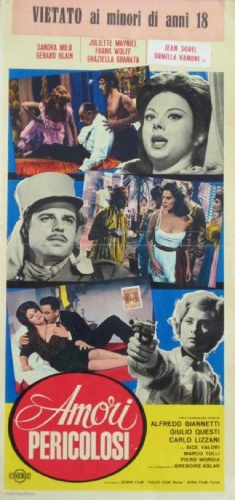 Amori pericolosi movie poster