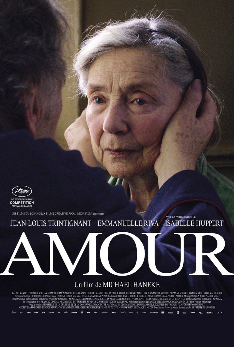Amour (2012 film) movie poster