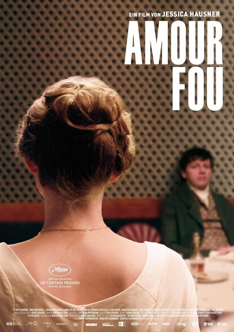 Amour Fou (film) movie poster