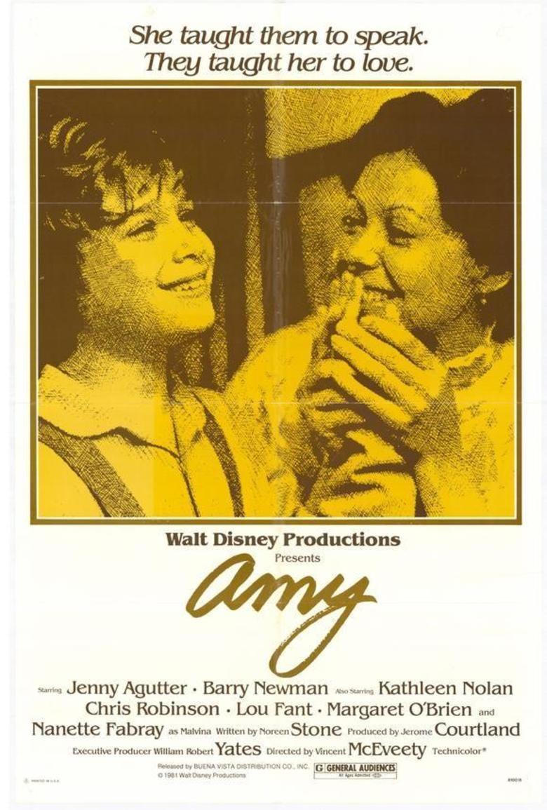 Amy (1981 film) movie poster