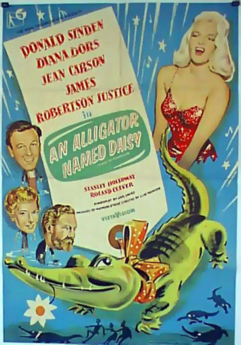 An Alligator Named Daisy movie poster