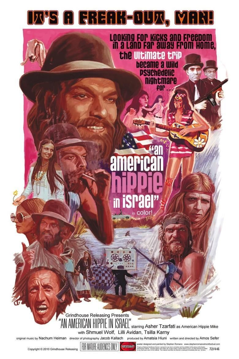 An American Hippie in Israel movie poster
