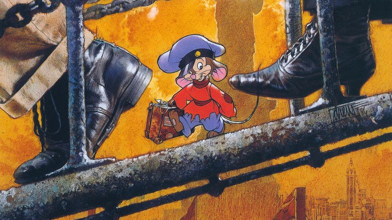 An American Tail: Fievel Goes West movie scenes