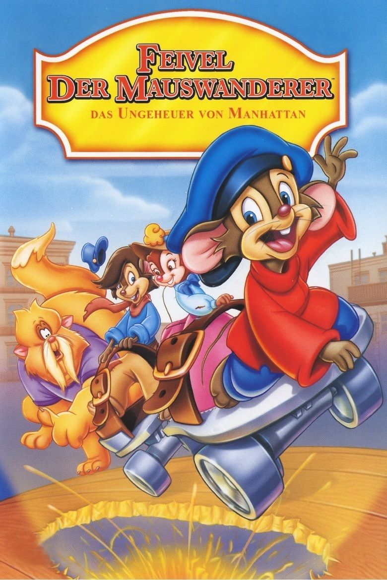 An American Tail: The Mystery of the Night Monster movie poster