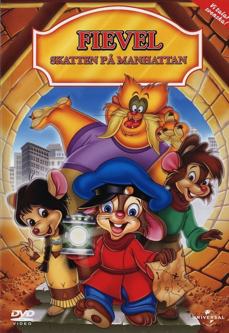 An American Tail: The Treasure of Manhattan Island movie poster
