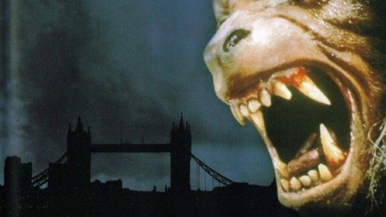 An American Werewolf in London movie scenes