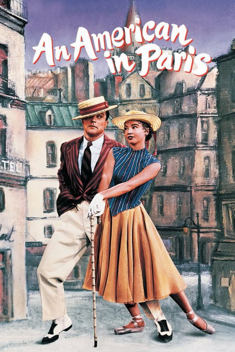An American in Paris (film) movie poster