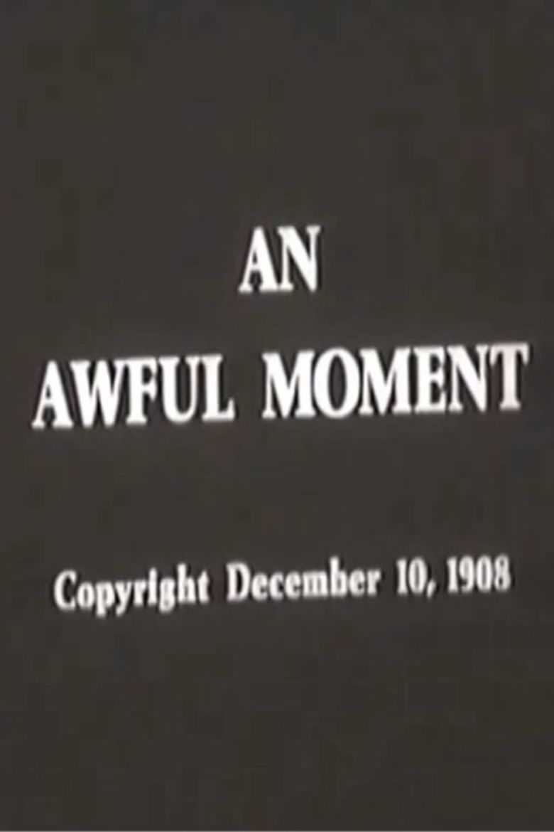 An Awful Moment movie poster