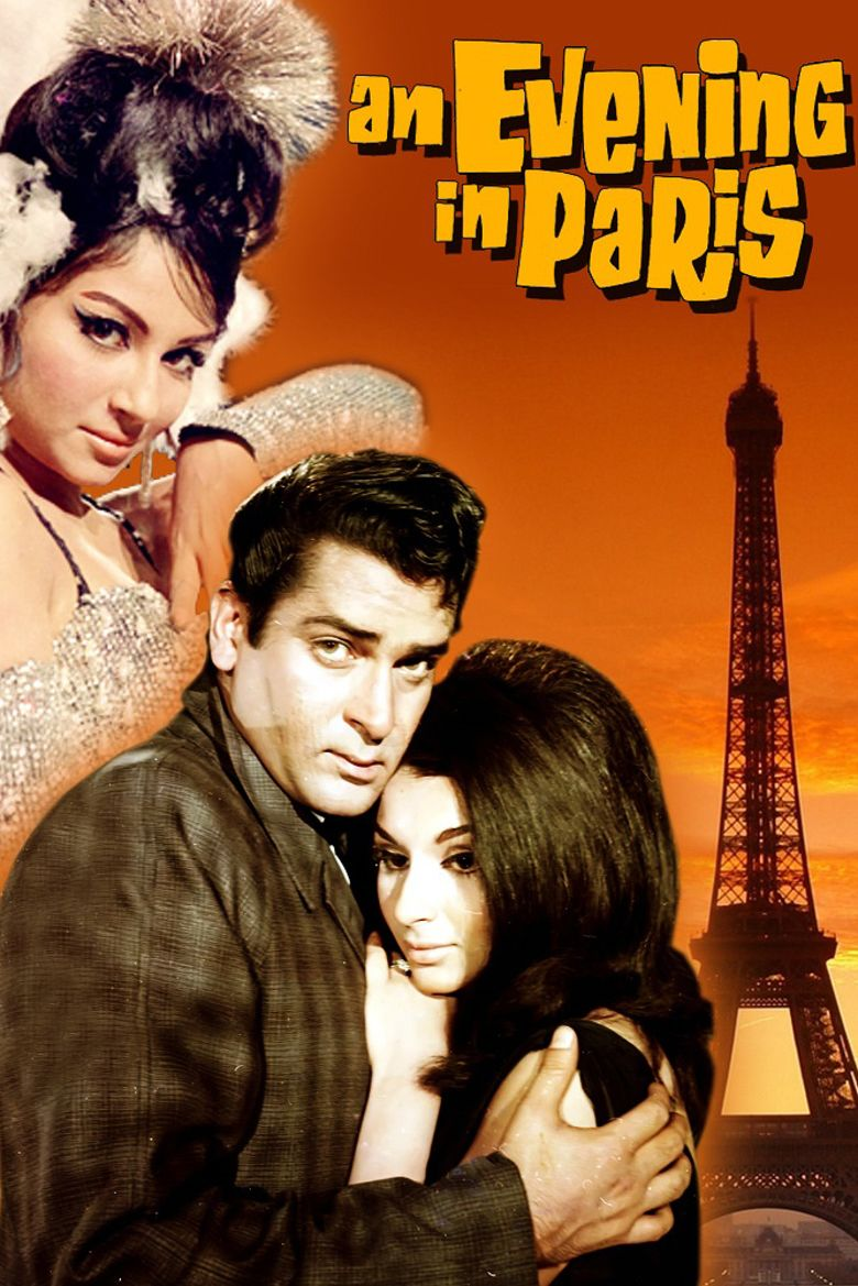 An Evening in Paris movie poster