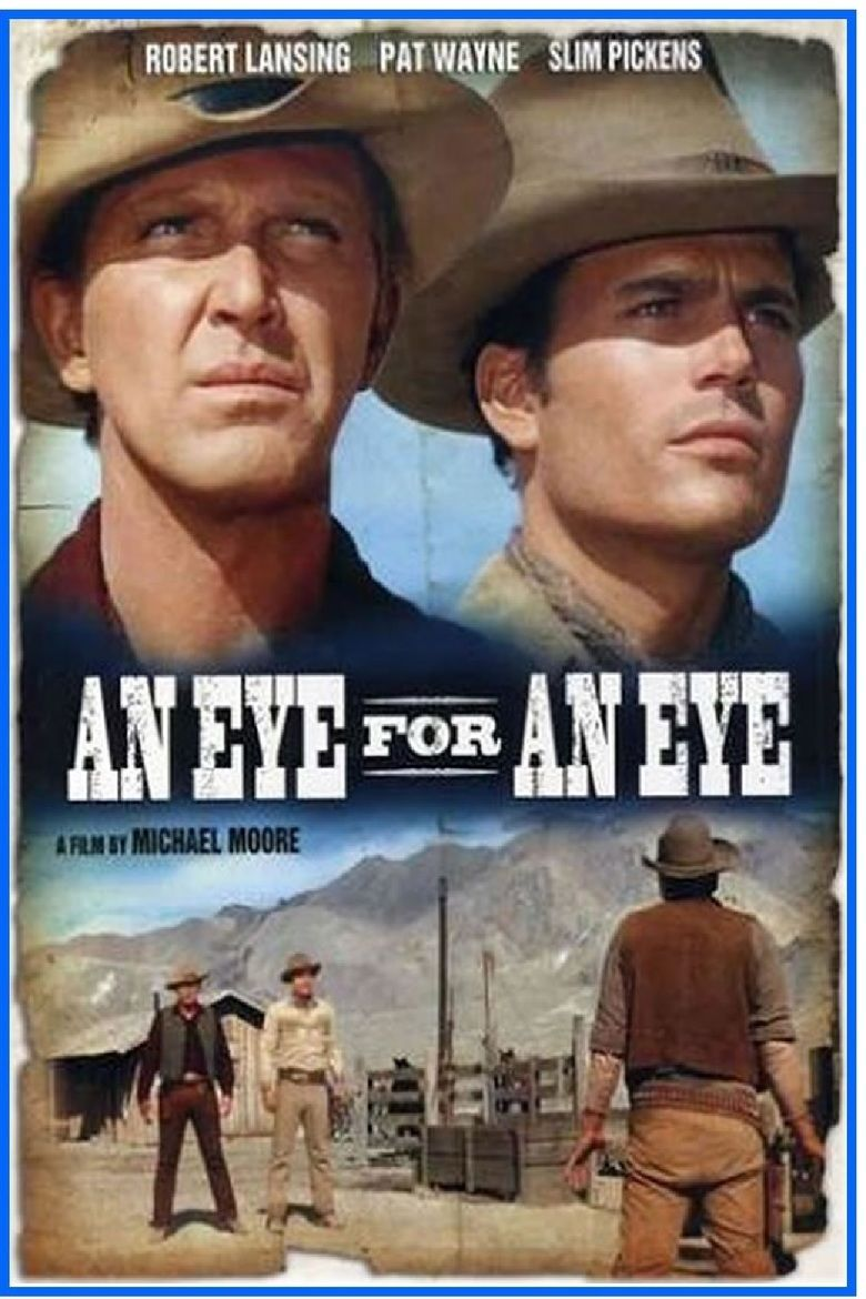 An Eye for an Eye (1966 film) movie poster