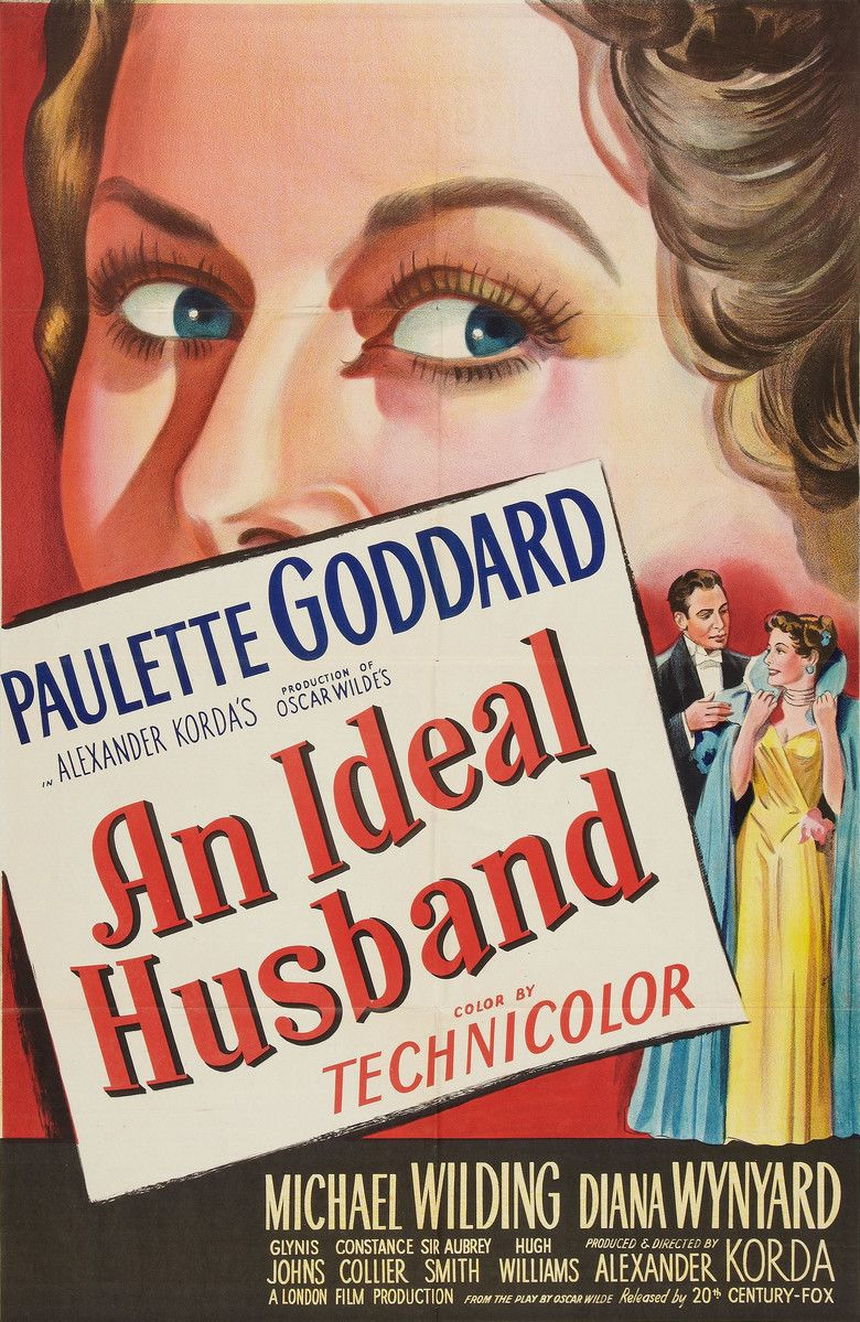 An Ideal Husband (1947 film) movie poster