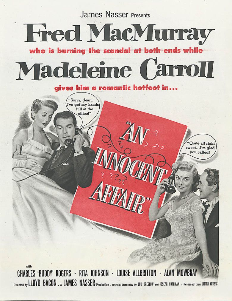 An Innocent Affair movie poster