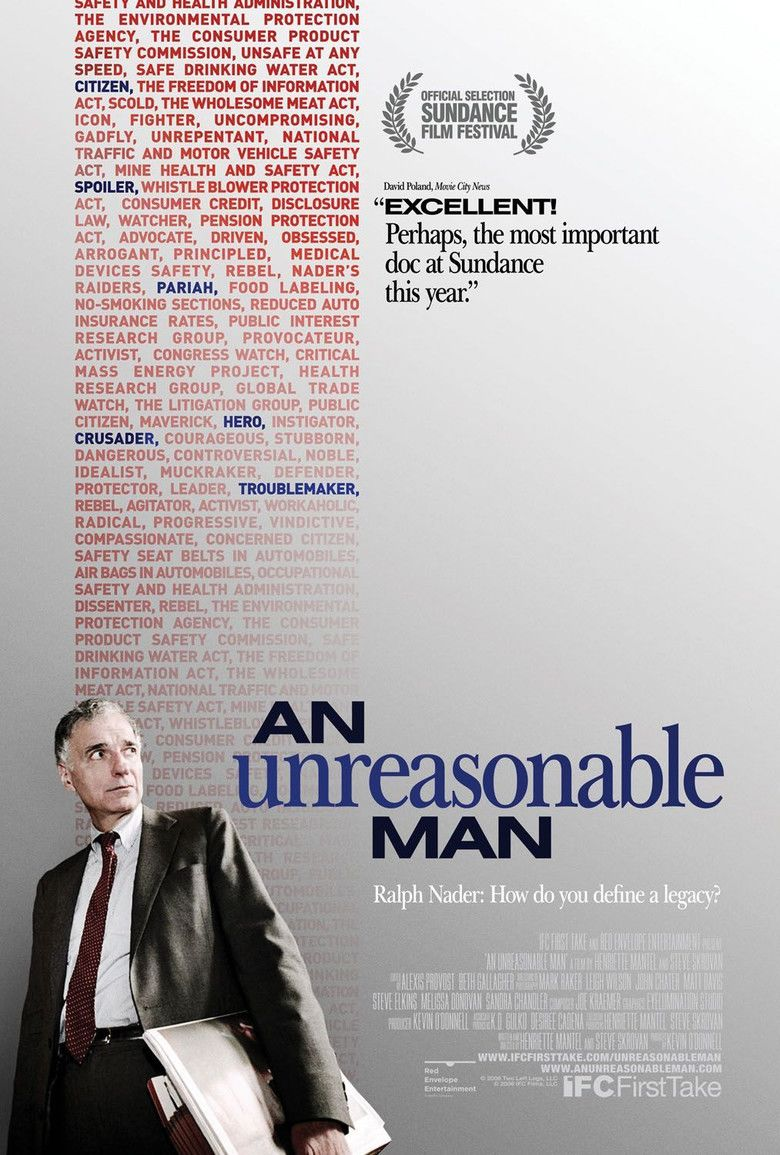 An Unreasonable Man movie poster