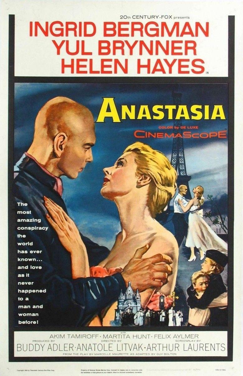 Anastasia (1956 film) movie poster