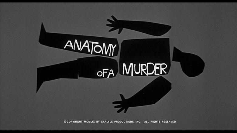 Anatomy of a Murder movie scenes