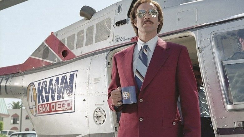 Anchorman: The Legend of Ron Burgundy movie scenes