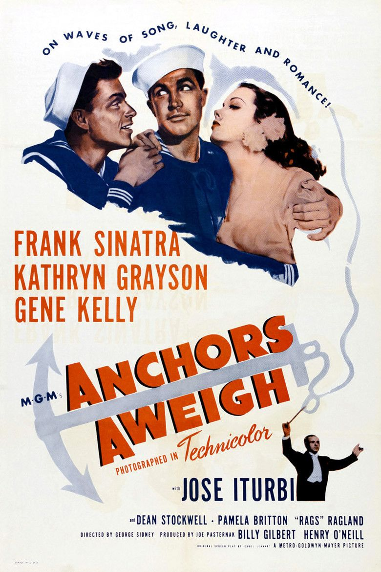 Anchors Aweigh (film) movie poster