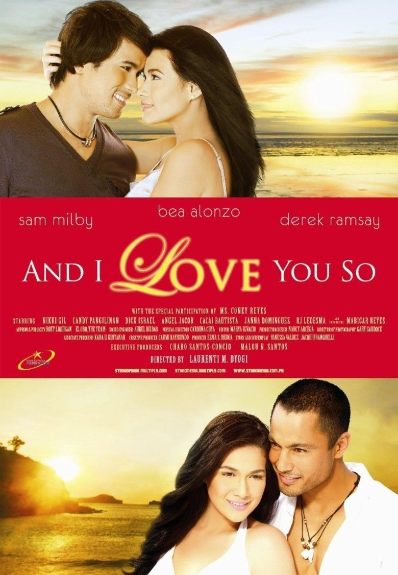 And I Love You So (film) movie poster
