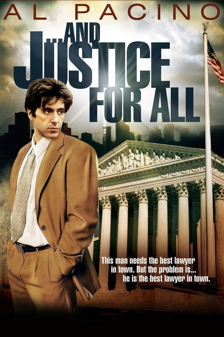 And Justice for All (film) movie poster