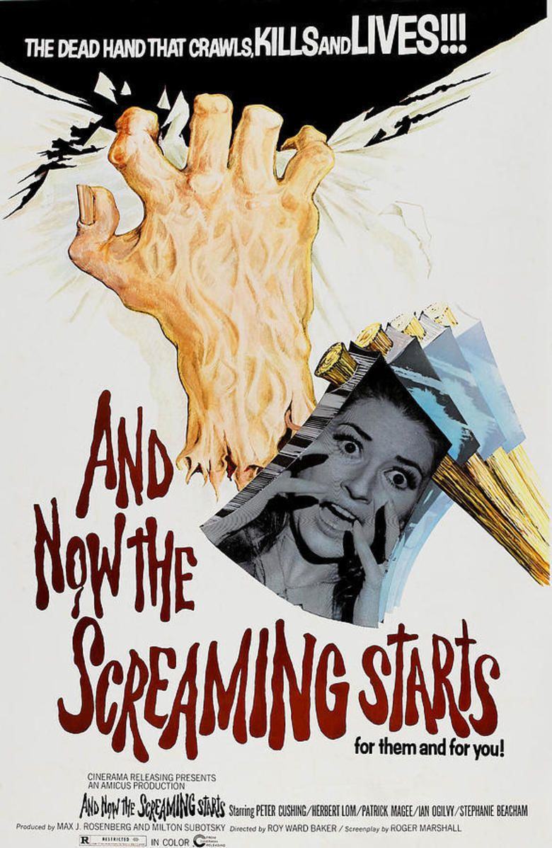 And Now the Screaming Starts! movie poster