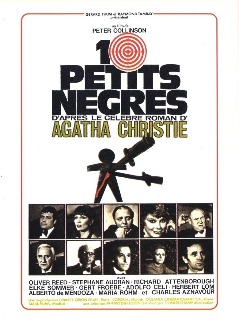 And Then There Were None (1974 film) movie poster