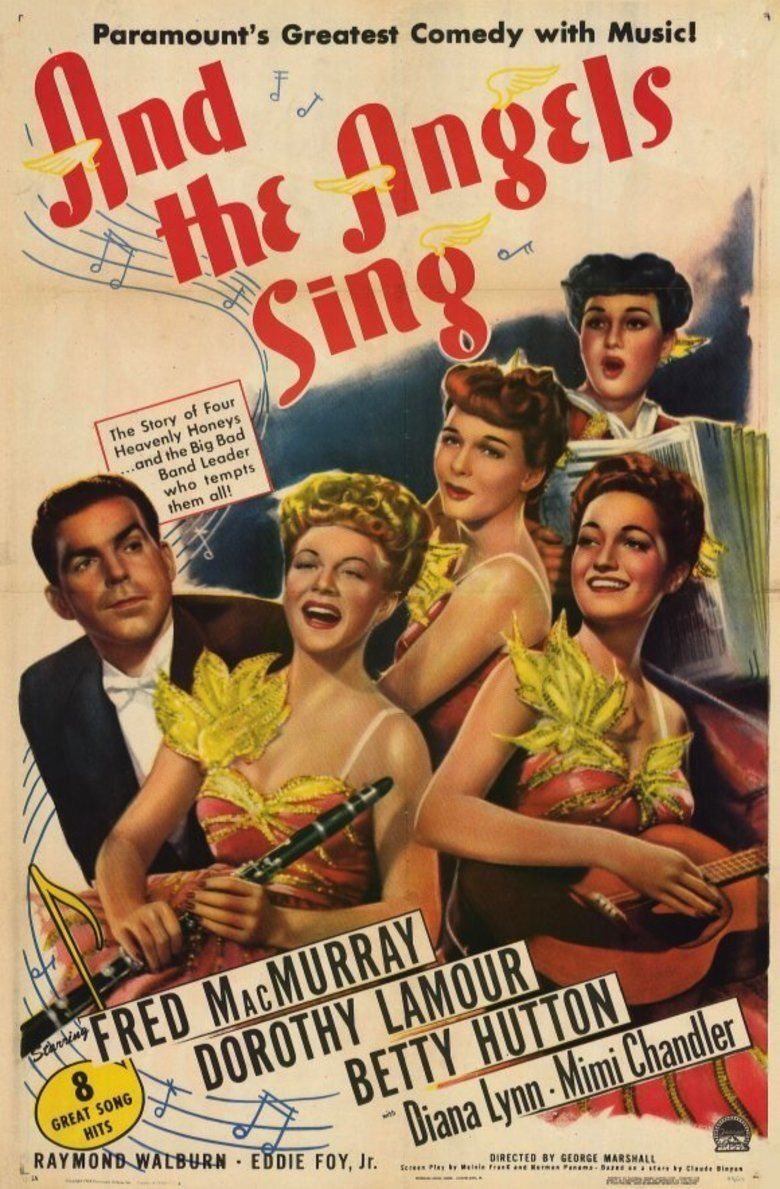 And the Angels Sing movie poster