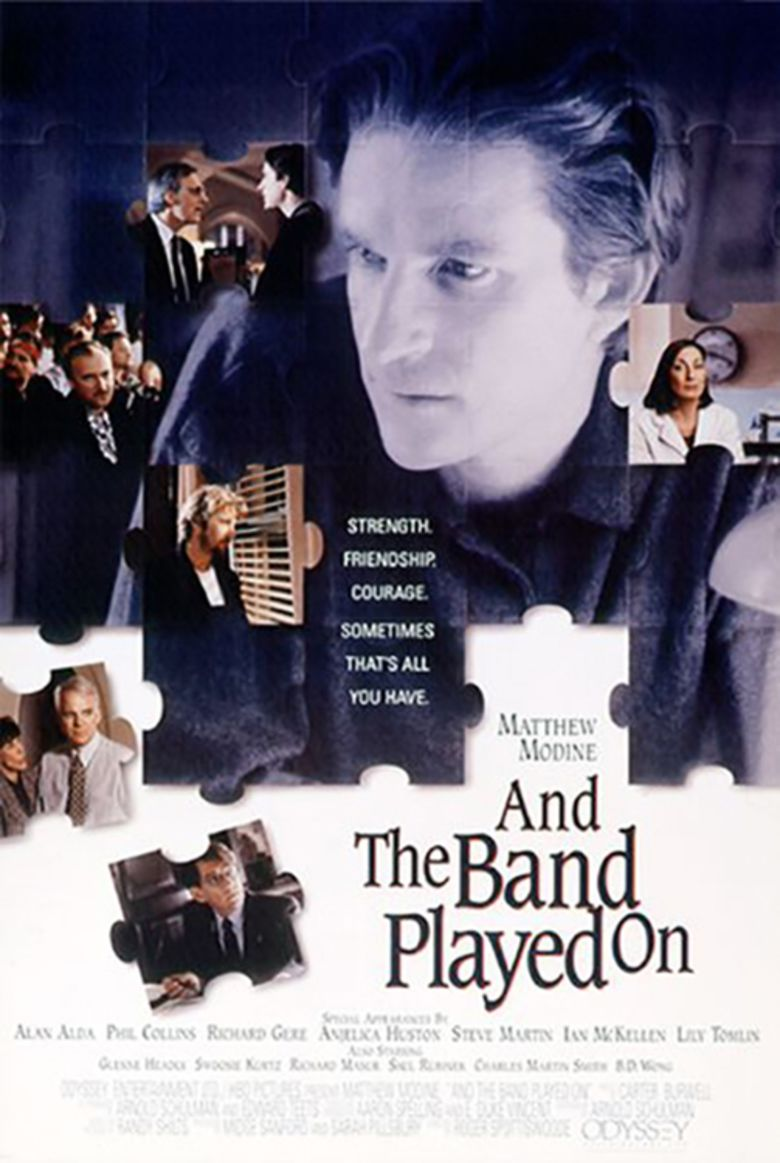 And the Band Played On (film) movie poster