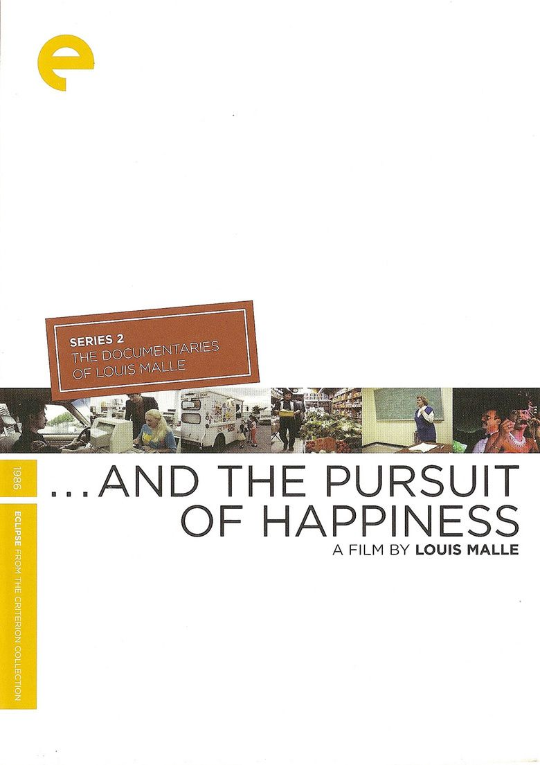 And the Pursuit of Happiness movie poster
