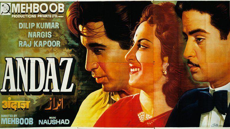Andaz (1949 film) movie scenes