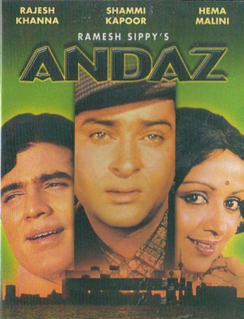 Andaz (1971 film) movie poster