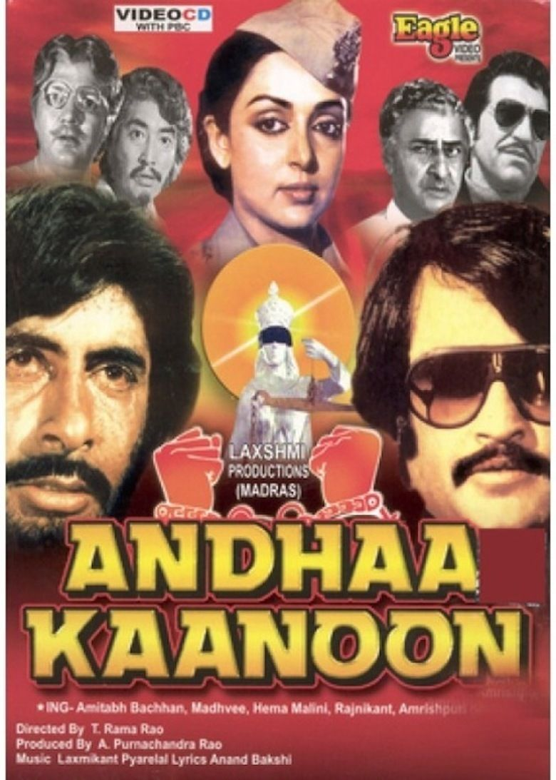 Andha Kanoon movie poster