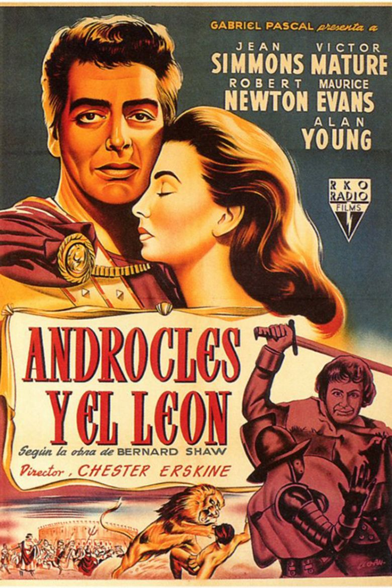 Androcles and the Lion (film) movie poster