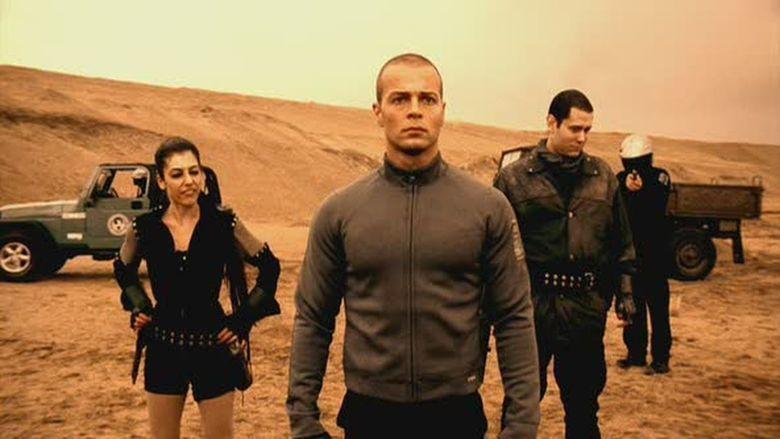 Android Apocalypse movie scenes