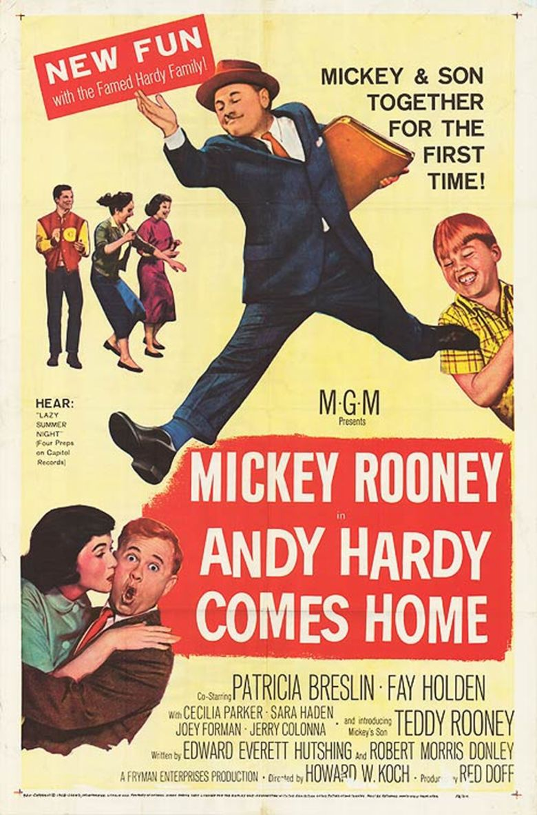 Andy Hardy Comes Home movie poster