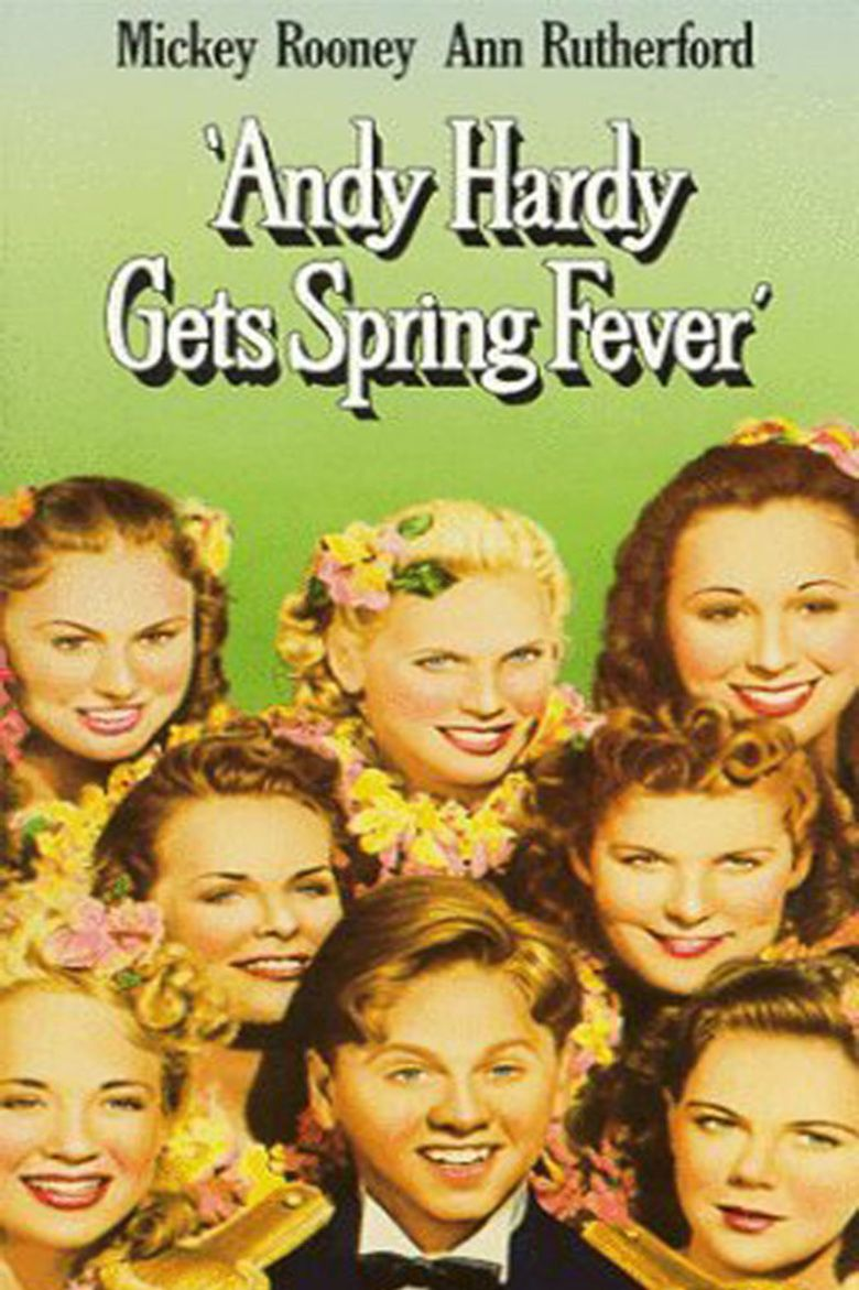 Andy Hardy Gets Spring Fever movie poster
