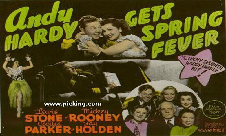 Andy Hardy Gets Spring Fever movie scenes