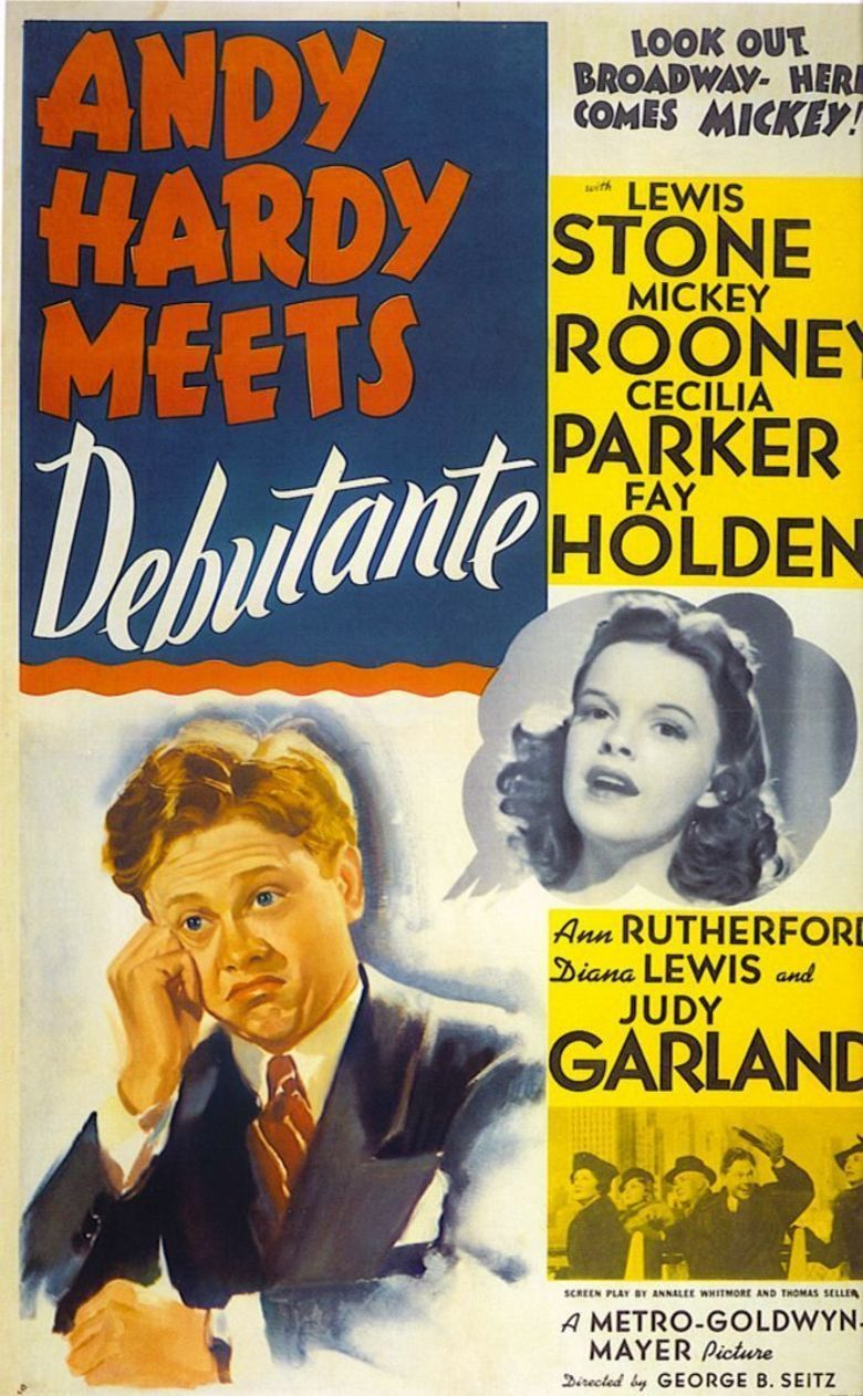 Andy Hardy Meets Debutante movie poster