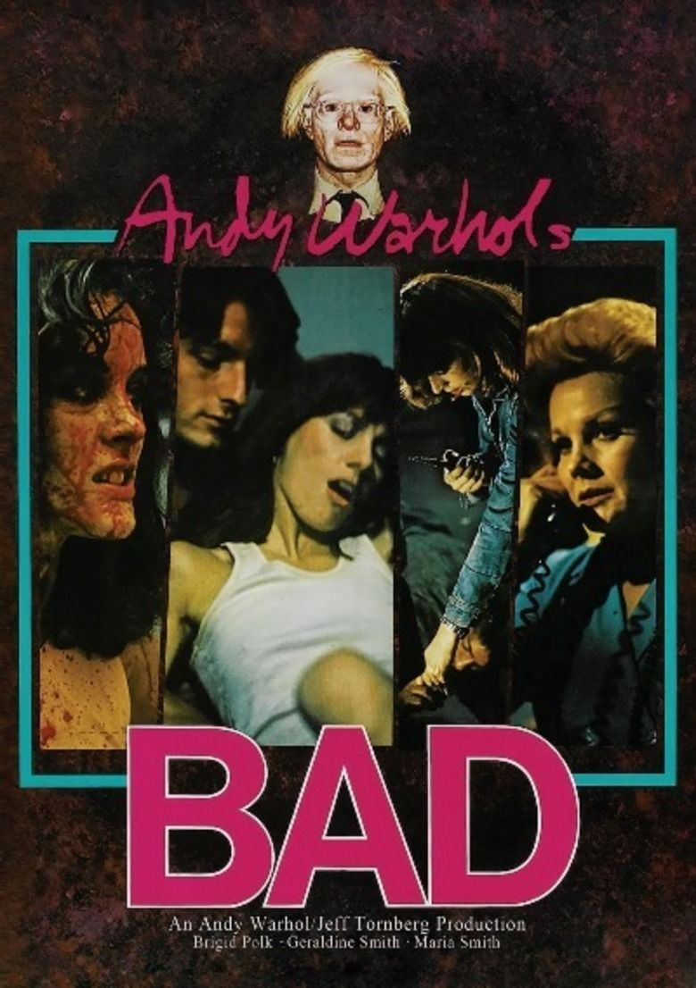 Andy Warhols Bad movie poster