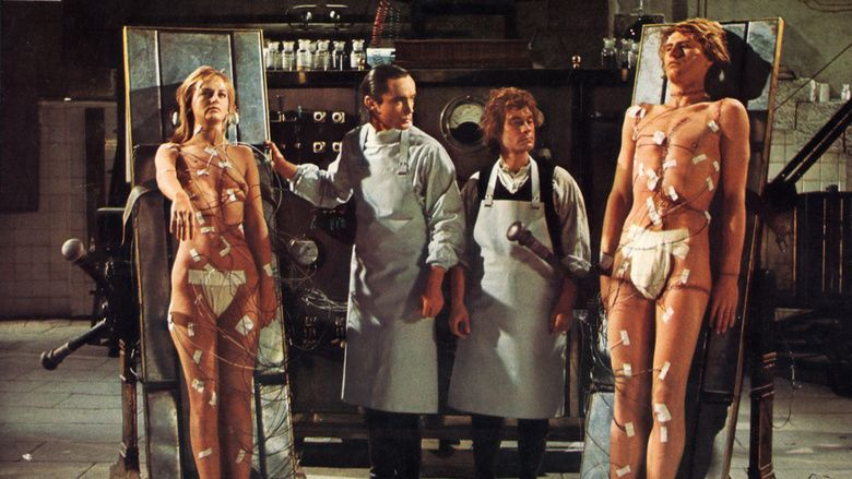 Andy Warhols Frankenstein movie scenes