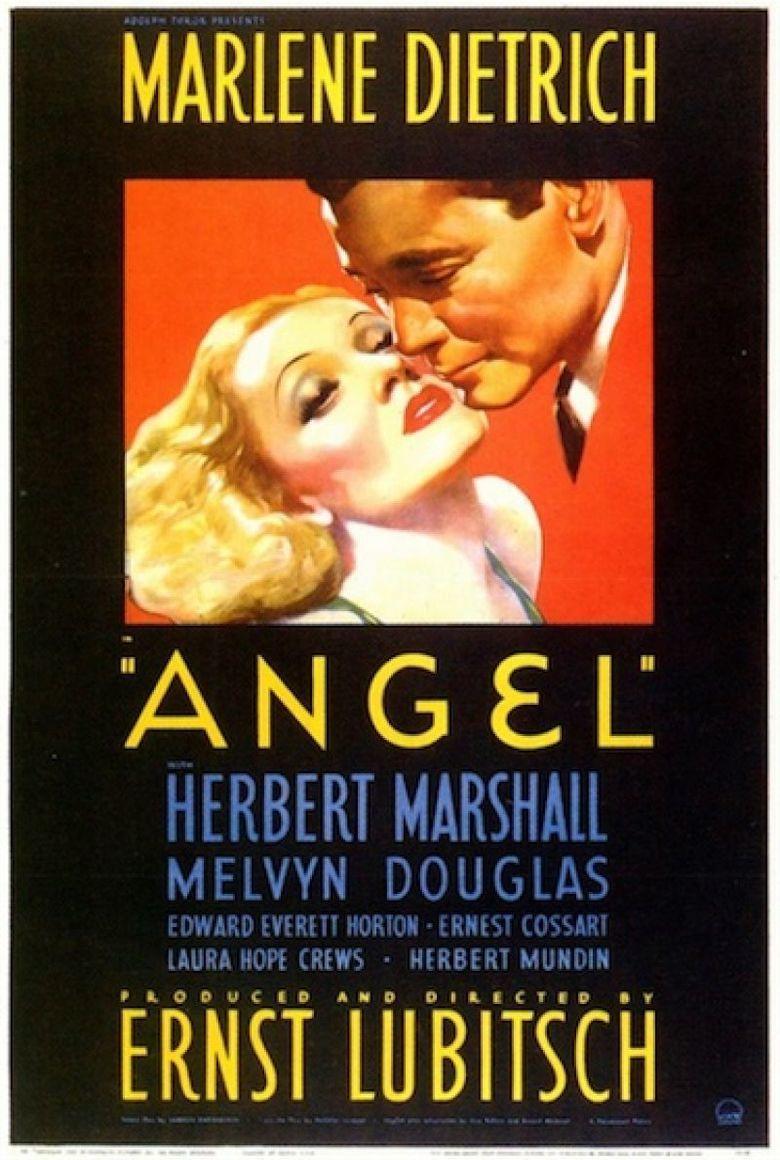 Angel (1937 film) movie poster