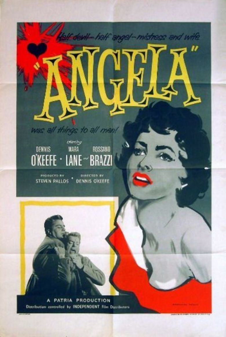 Angela (1955 film) movie poster