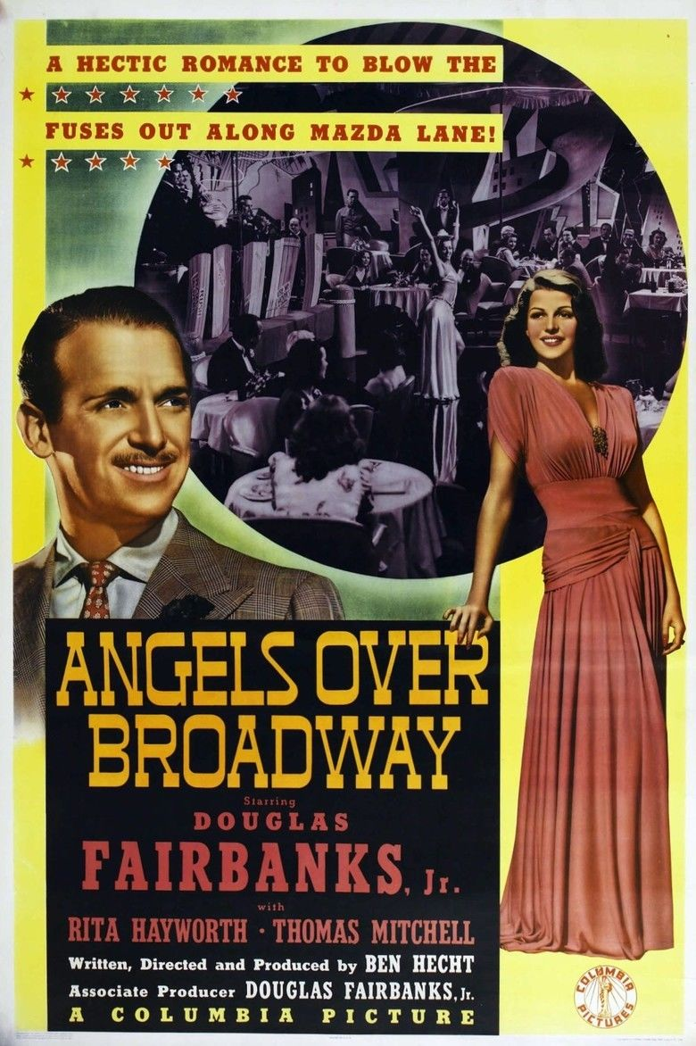 Angels Over Broadway movie poster