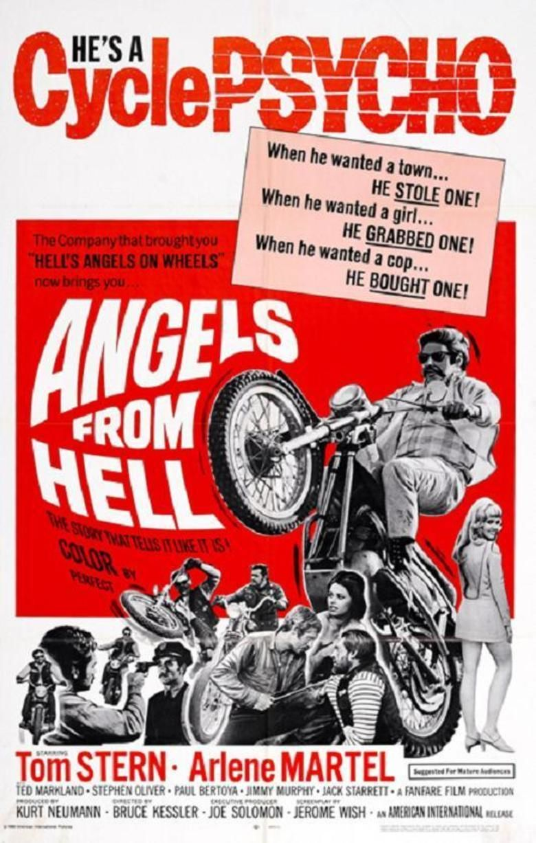 Angels from Hell movie poster