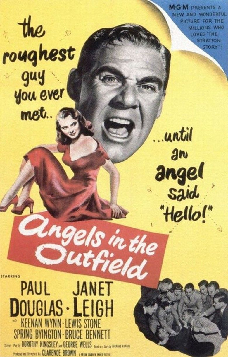 Angels in the Outfield (1951 film) movie poster