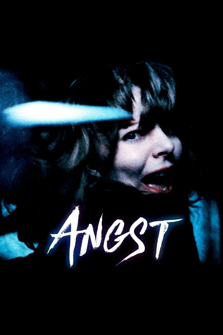 Angst (1983 film) movie poster
