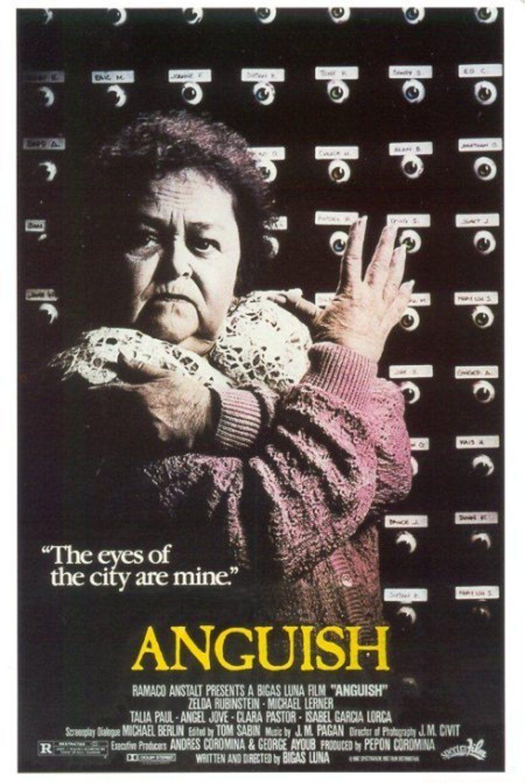 Anguish (film) movie poster
